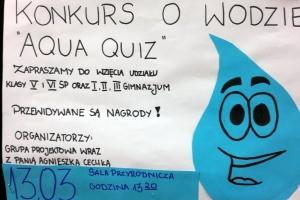 2016-2017. 63. konkurs - woda