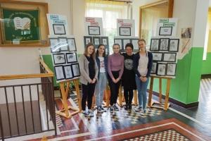 2018-2019. 55. wystawa plastyczna naszych uczennic